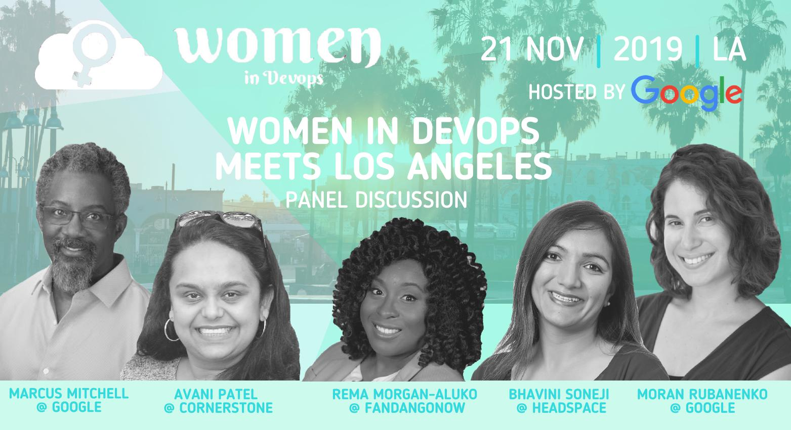 Women in DevOps Meets Los Angeles - Let's Talk Tech and Diversity