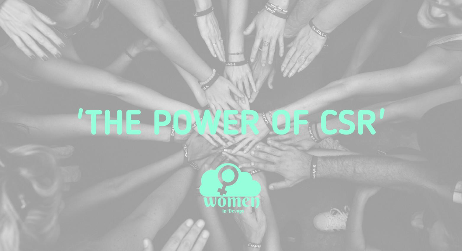 Article: The Power of CSR