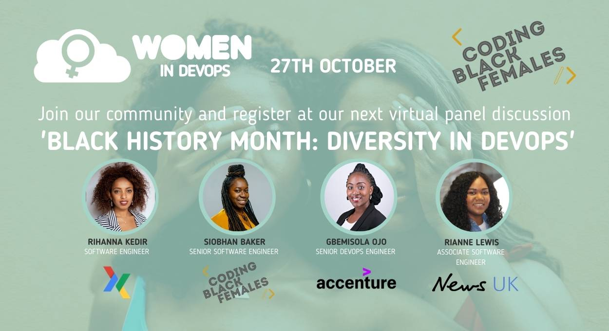Webinar #7 - 'Black History Month: Diversity in DevOps'