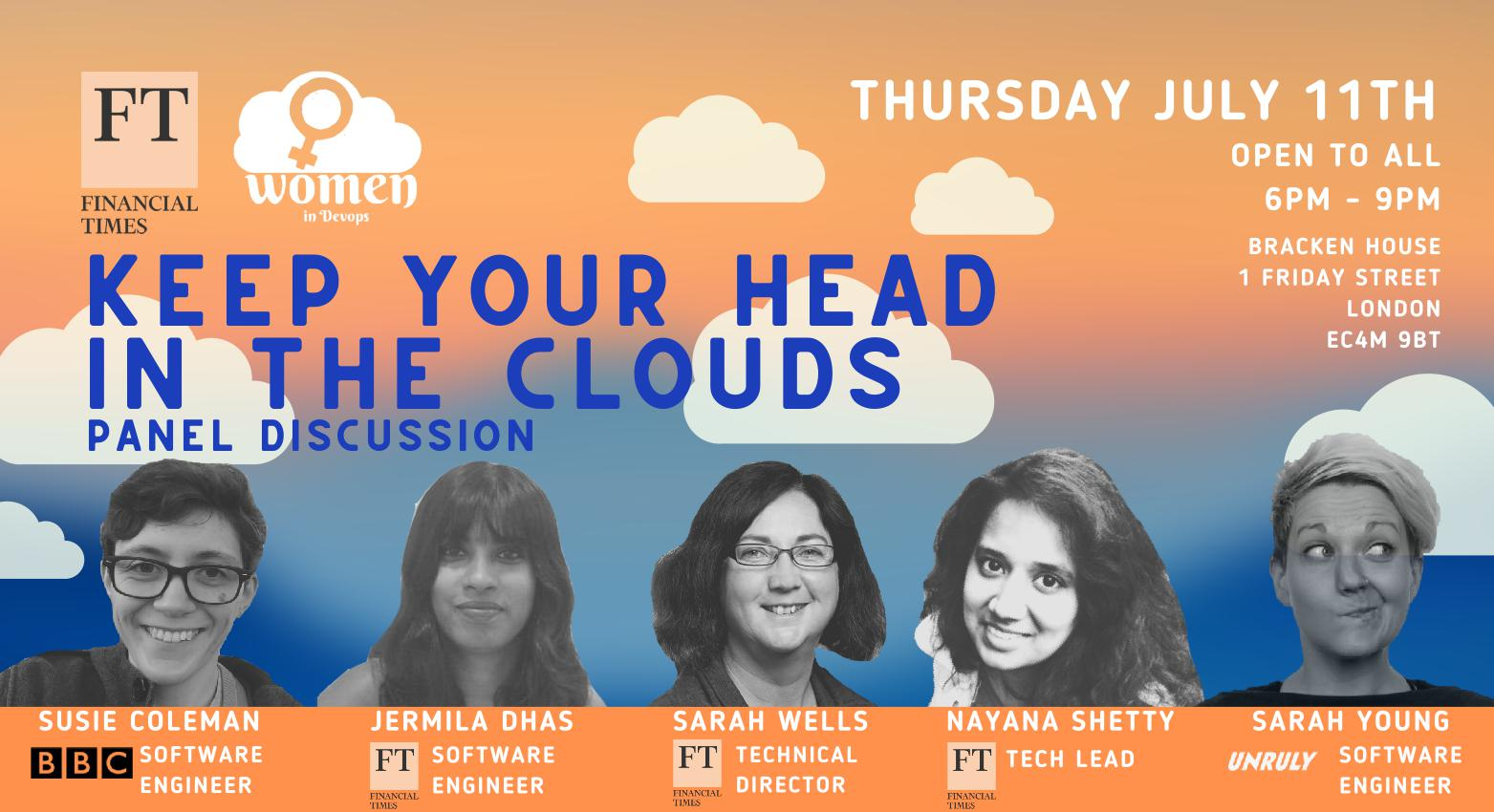 Women In DevOps: Keep your head in the clouds in collaboration with FT