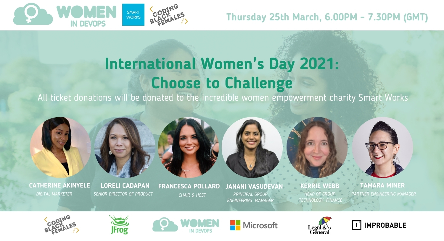 Webinar #12 - International Women's Day 2021: Choose to Challenge