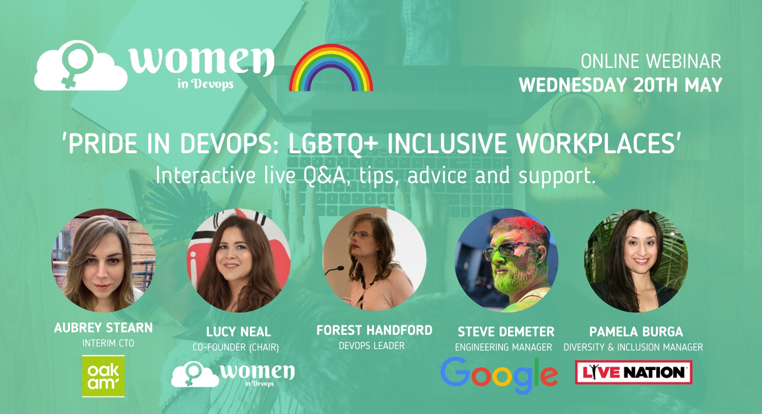 Webinar #3 - Pride in DevOps: LGBTQ+ Inclusive Workplaces