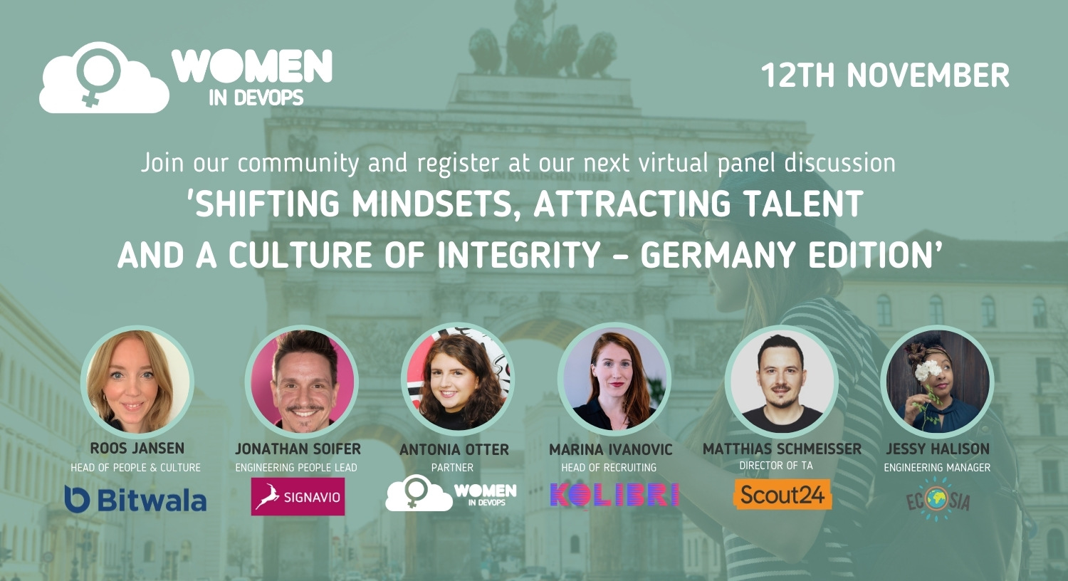 Webinar #8 - 'Shifting Mindsets, Attracting Talent and a Culture of Integrity'