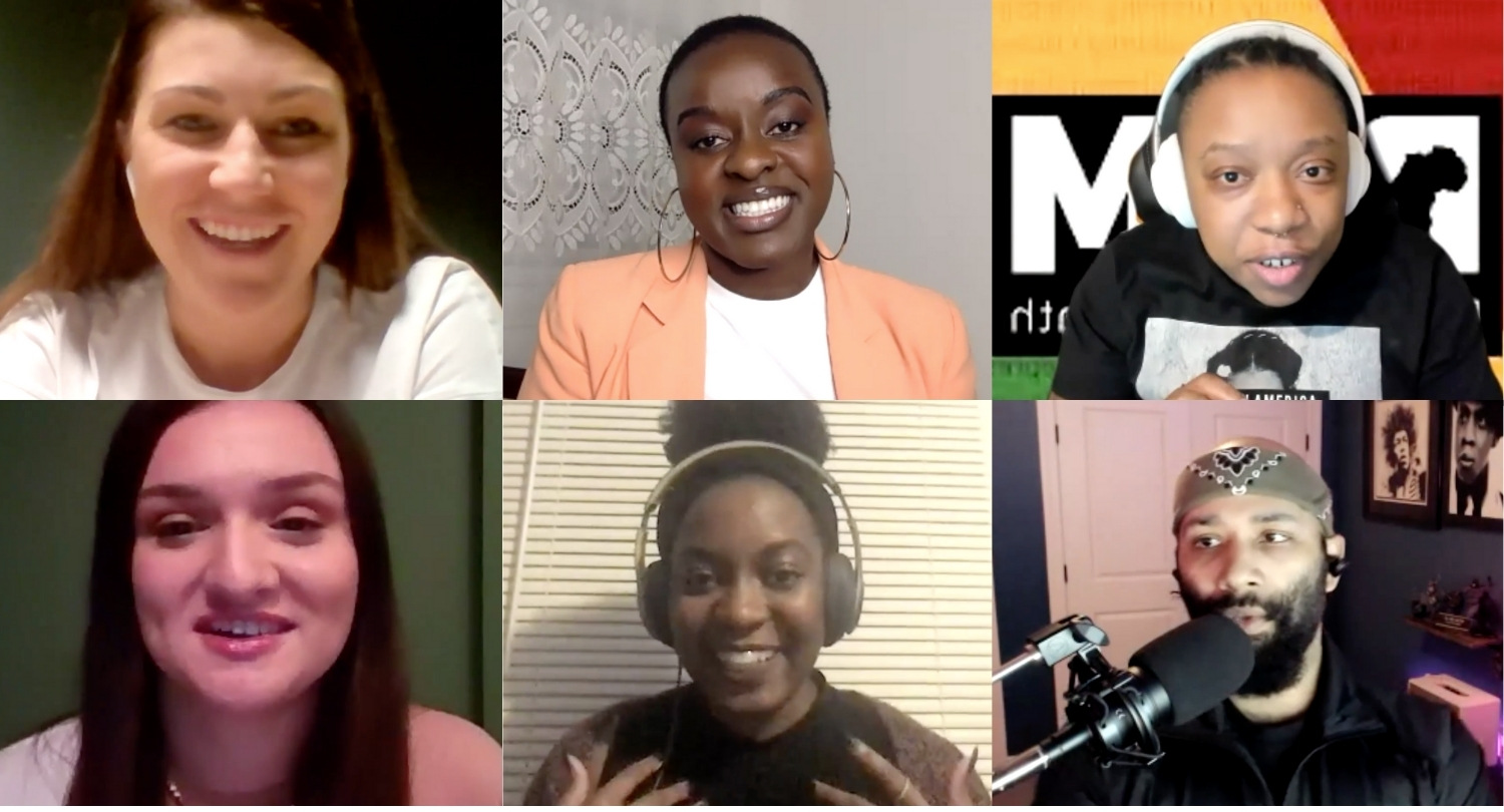 Recap - Webinar #11: Black History Month: inspirational Black voices in tech