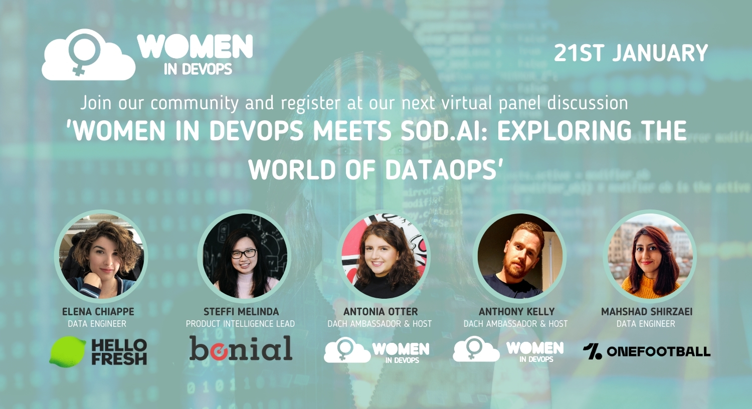 Webinar #10 - Women in DevOps meets SOD.AI: Exploring the World of DataOps